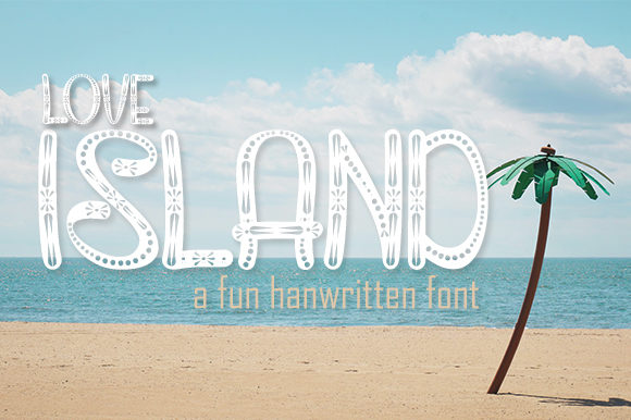 Download Free Love Island Font By Arf Studio Creative Fabrica for Cricut Explore, Silhouette and other cutting machines.