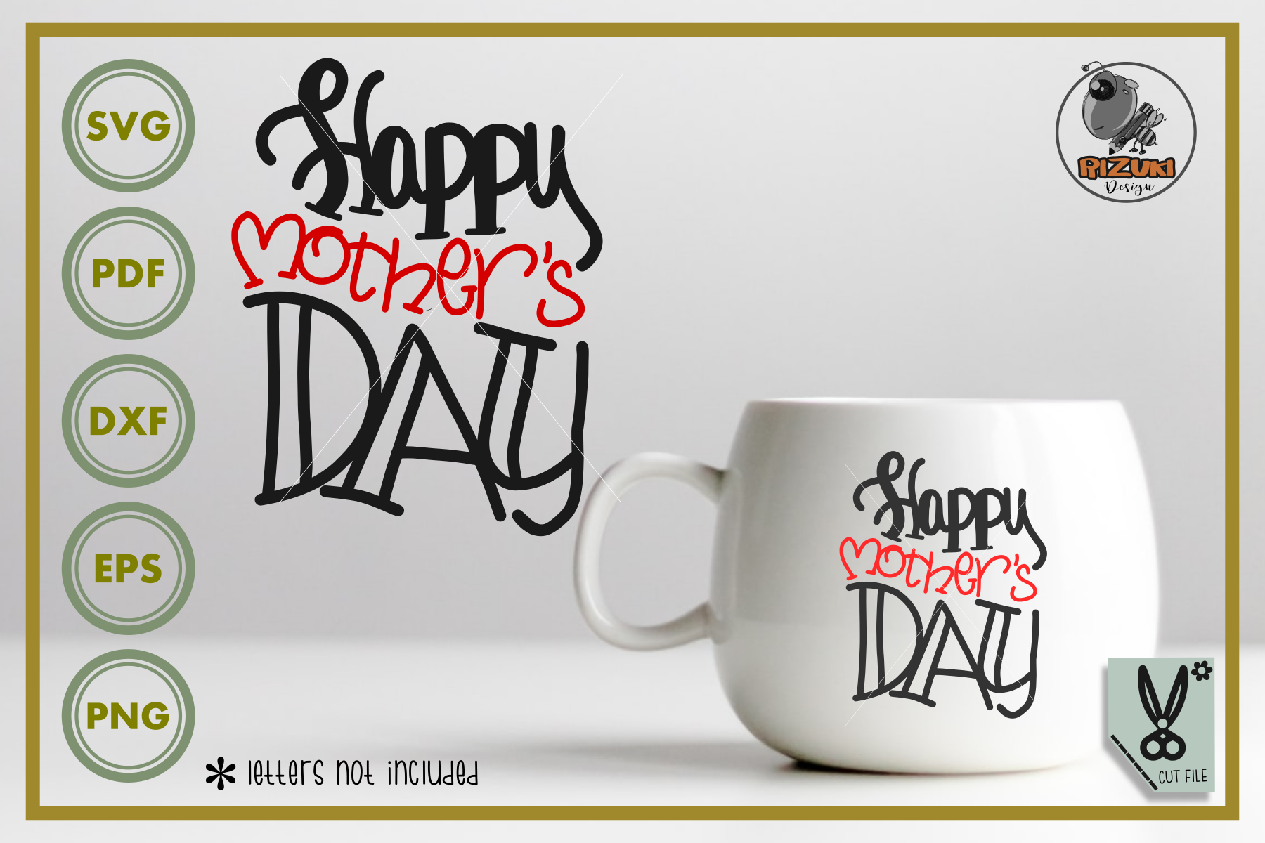 Happy Mother Day Graphic By Rizuki Store Creative Fabrica
