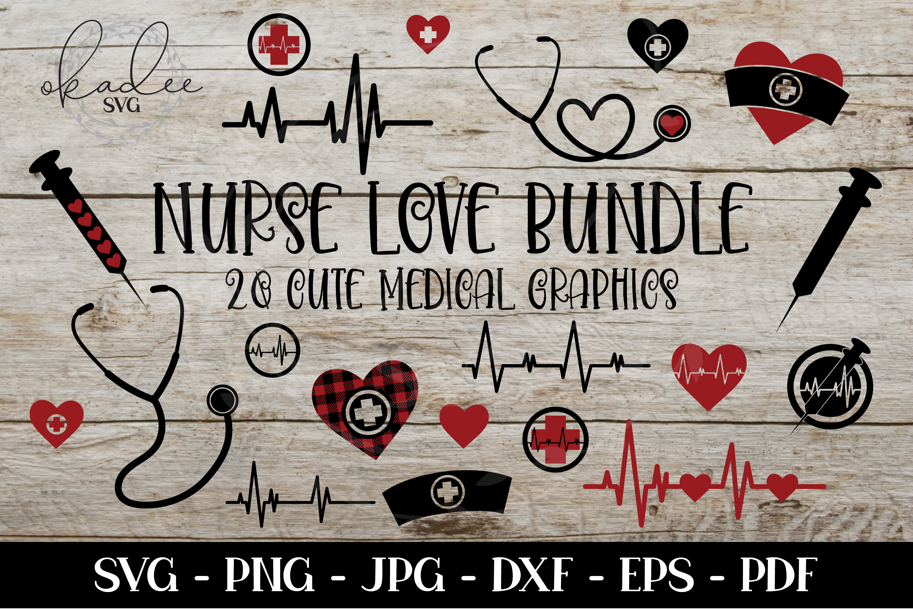 Download Free Nurse Bundle Nurse Clipart Graphic By Okadee Svg Creative Fabrica for Cricut Explore, Silhouette and other cutting machines.