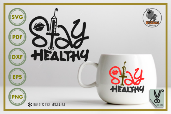 Download Stay Healthy Silhouette