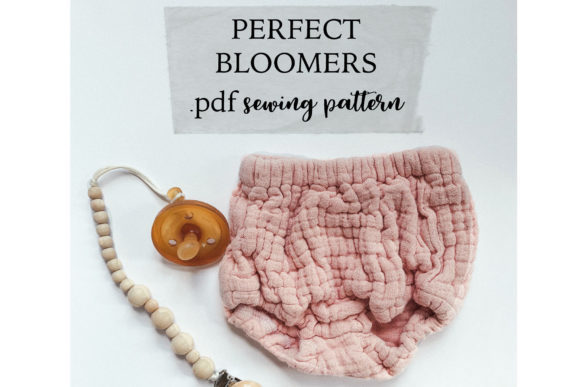 Perfect Bloomers Sewing Pattern Graphic Needle Arts By Sweet Mama Makes