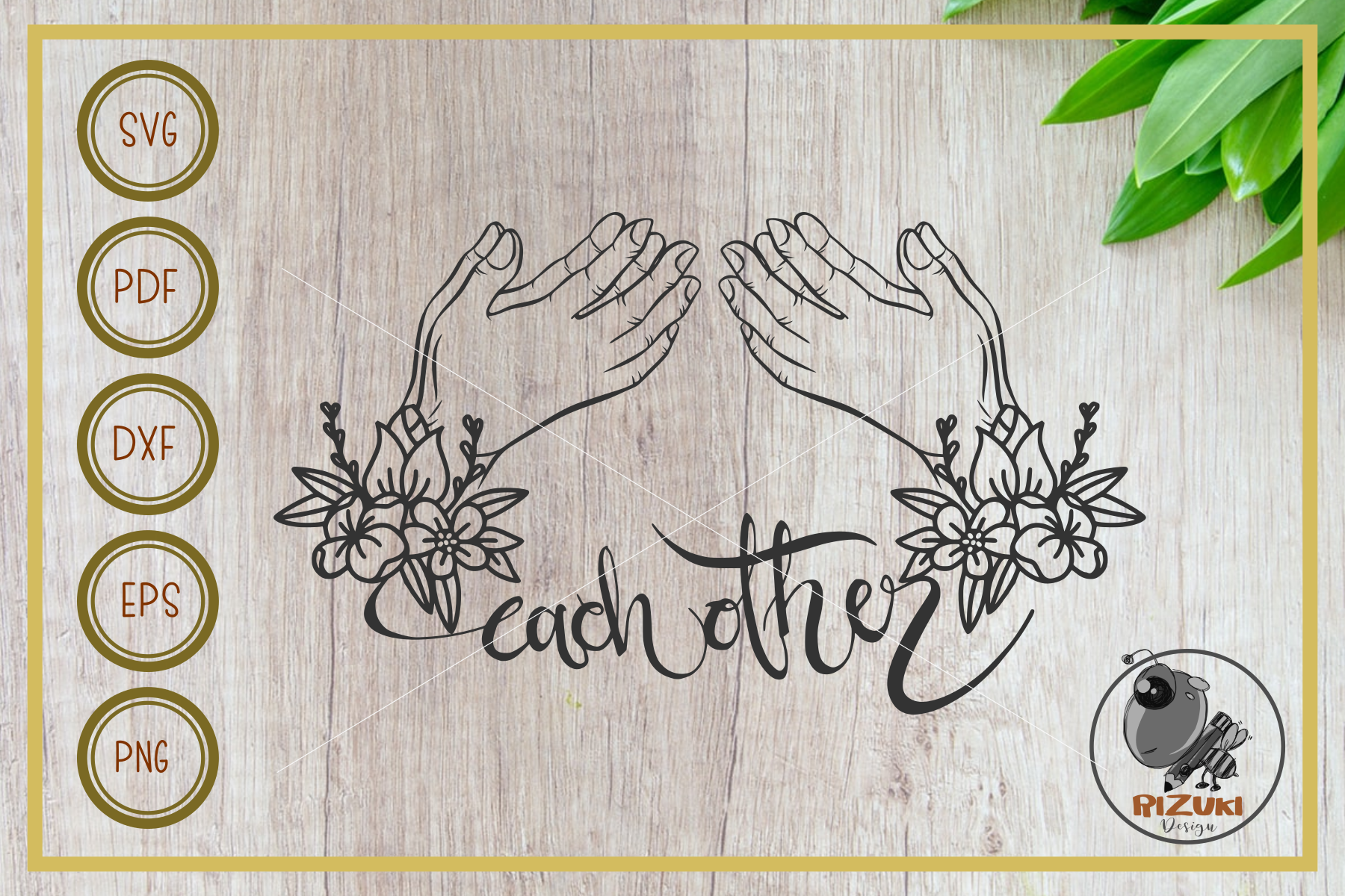 Pray Each Other Cut File Decor Graphic By Rizuki Store