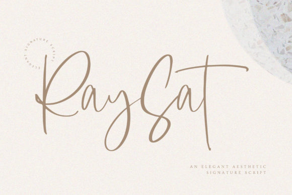 Print on Demand: Raysat Script & Handwritten Font By Mas Anis