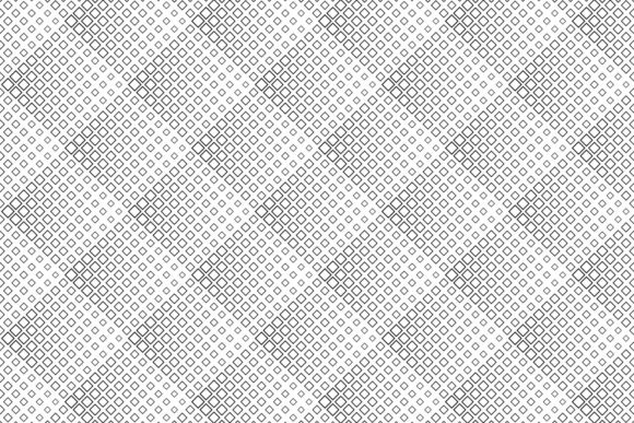 Seamless Black and White Square Pattern Graphic Patterns By davidzydd