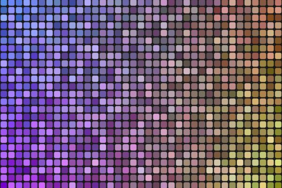 Square Mosaic Purple and Yellow Tile Background Graphic Backgrounds By davidzydd