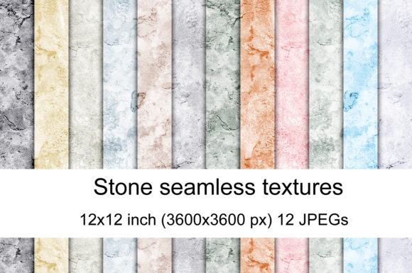 Print on Demand: Stone Texture Graphic Textures By Andrea Kostelic
