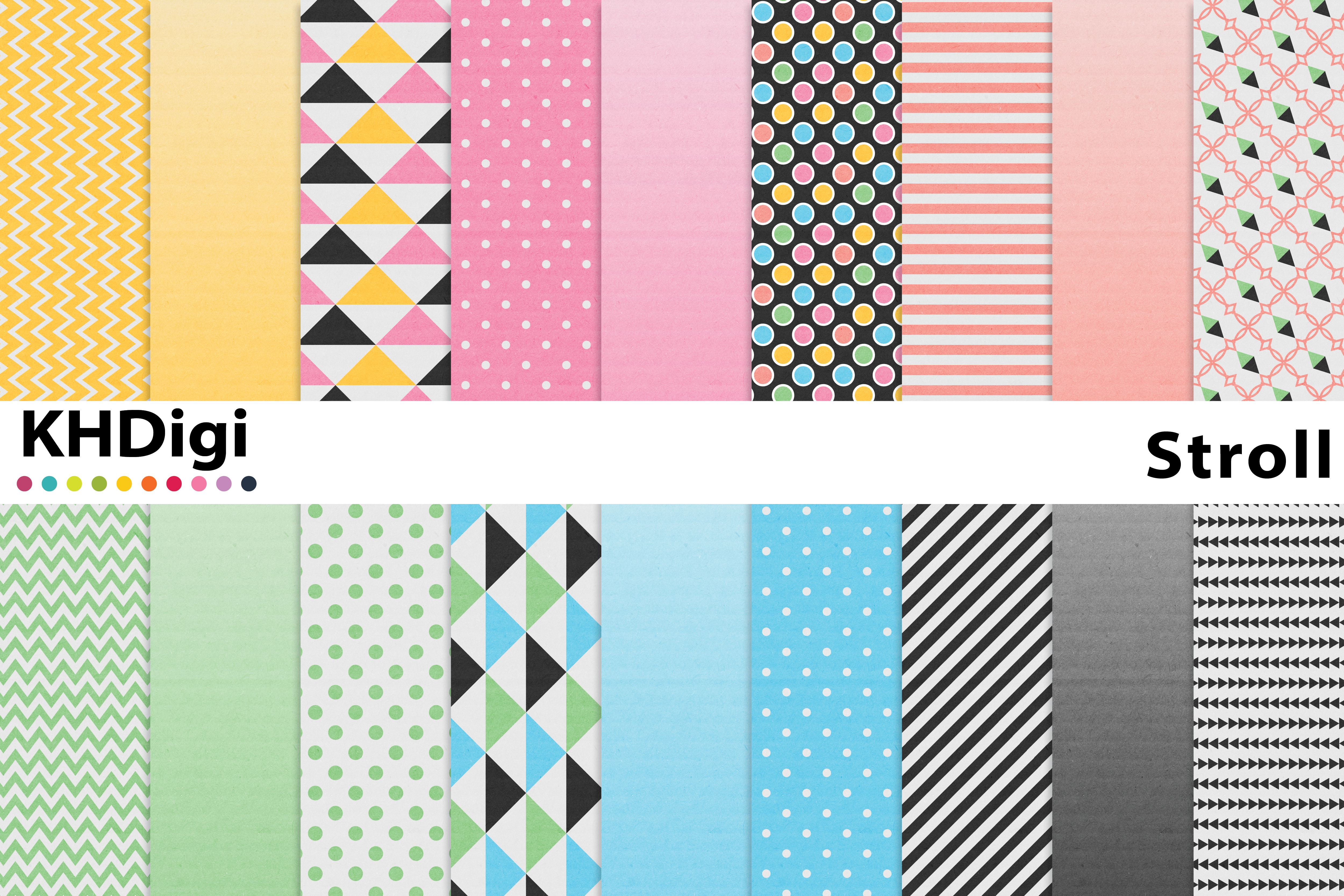 Download Free Stroll Digital Paper Textured Graphic By Khdigi Creative Fabrica for Cricut Explore, Silhouette and other cutting machines.