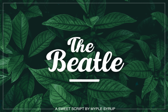 Download Free The Beatle Font By Maplesyruptype Creative Fabrica SVG Cut Files