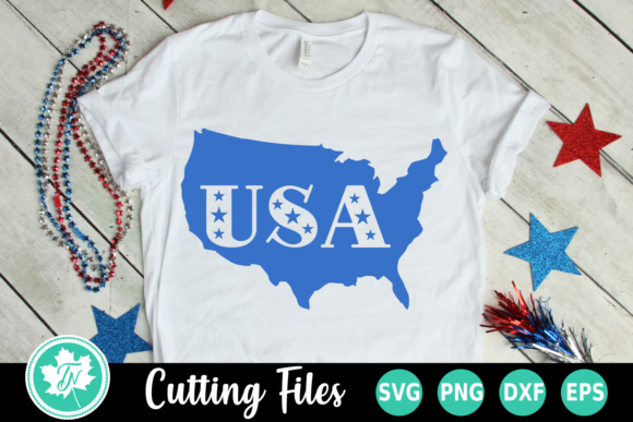Download Free Usa Country An Americana Graphic By Truenorthimagesca for Cricut Explore, Silhouette and other cutting machines.