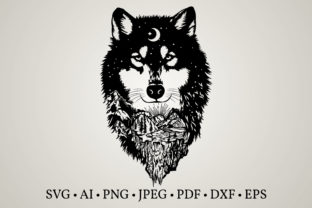 Wolf Clipart  Graphic Crafts By Euphoria Design