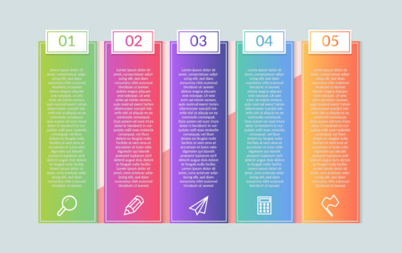 Infographic 5 Step Graphic Infographics By usmanfirdaus446