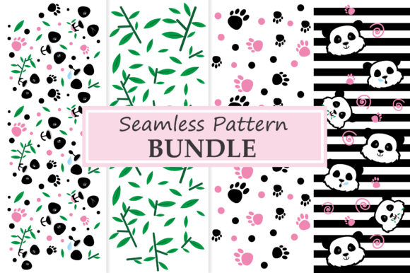 Panda Element Patterns Graphic Patterns By ABs