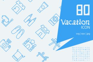 Vacation Graphic Icons By astuti.julia93@gmail.com