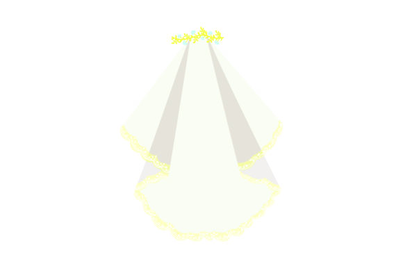 Download Free Wedding Veil Svg Cut File By Creative Fabrica Crafts Creative Fabrica for Cricut Explore, Silhouette and other cutting machines.