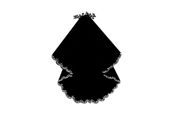 Download Free Wedding Veil Svg Cut File By Creative Fabrica Crafts Creative for Cricut Explore, Silhouette and other cutting machines.