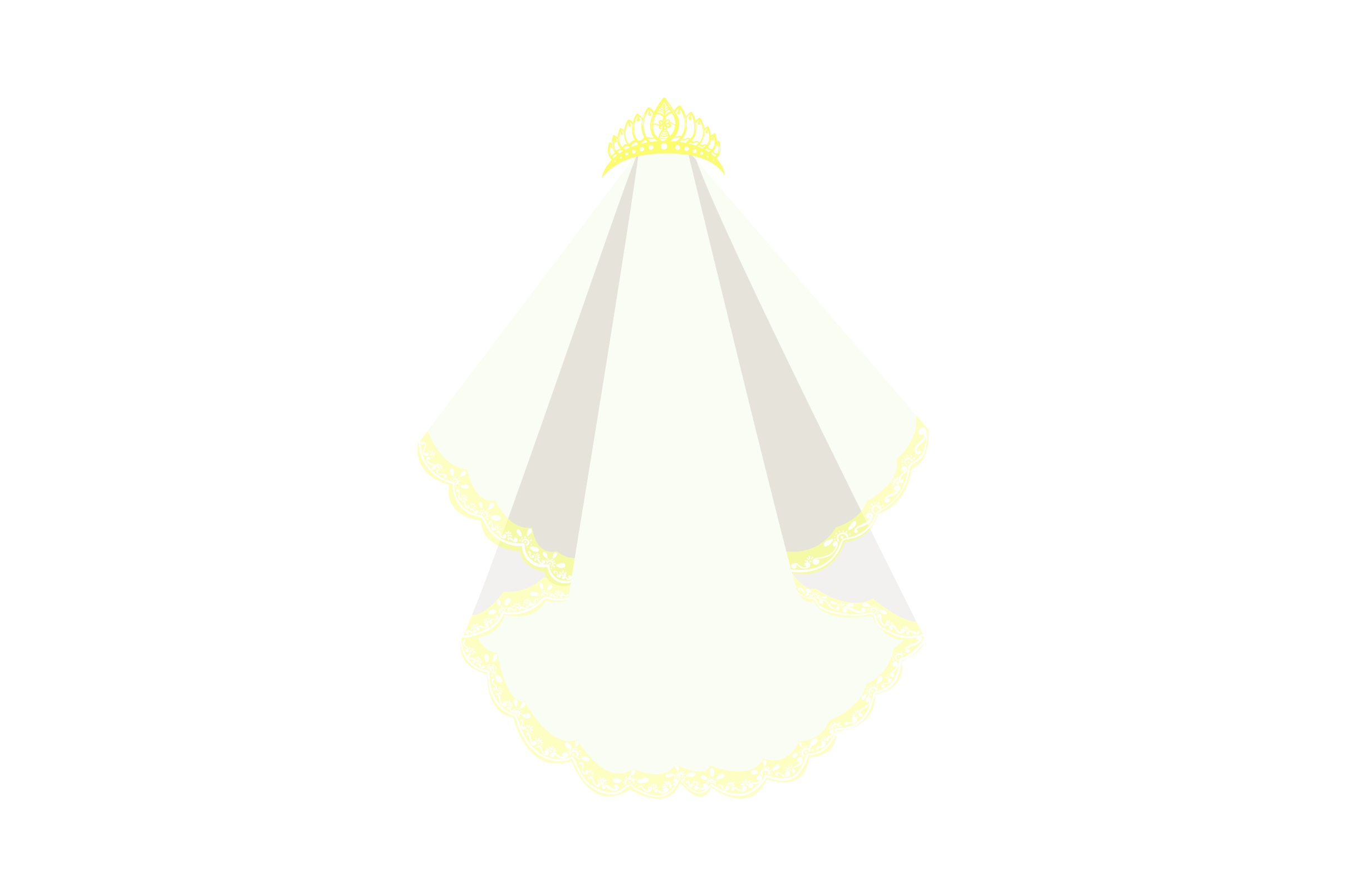 Download Free Wedding Veil With Tiara Svg Cut File By Creative Fabrica Crafts for Cricut Explore, Silhouette and other cutting machines.