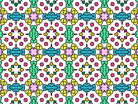 Download Free Abstract Pattern Design Colorful Graphic By Nativeevisual for Cricut Explore, Silhouette and other cutting machines.