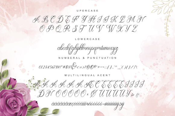 Print on Demand: Beauty Lova Script & Handwritten Font By ToniStudio - Image 3