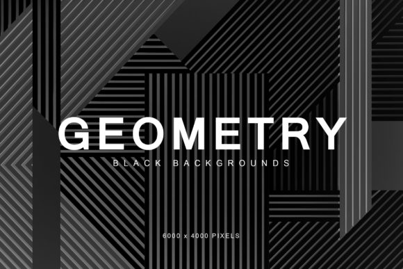 Download Free Black Geometry Backgrounds Graphic By Artistmef Creative Fabrica for Cricut Explore, Silhouette and other cutting machines.