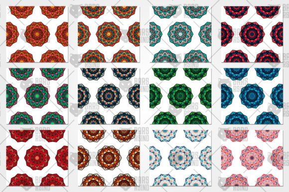 Download Free Chakras Seamless Pattern Graphic By Barsrsind Creative Fabrica for Cricut Explore, Silhouette and other cutting machines.