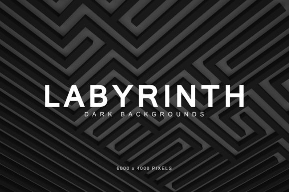 Download Free Dark Labyrinth Backgrounds Graphic By Artistmef Creative Fabrica for Cricut Explore, Silhouette and other cutting machines.