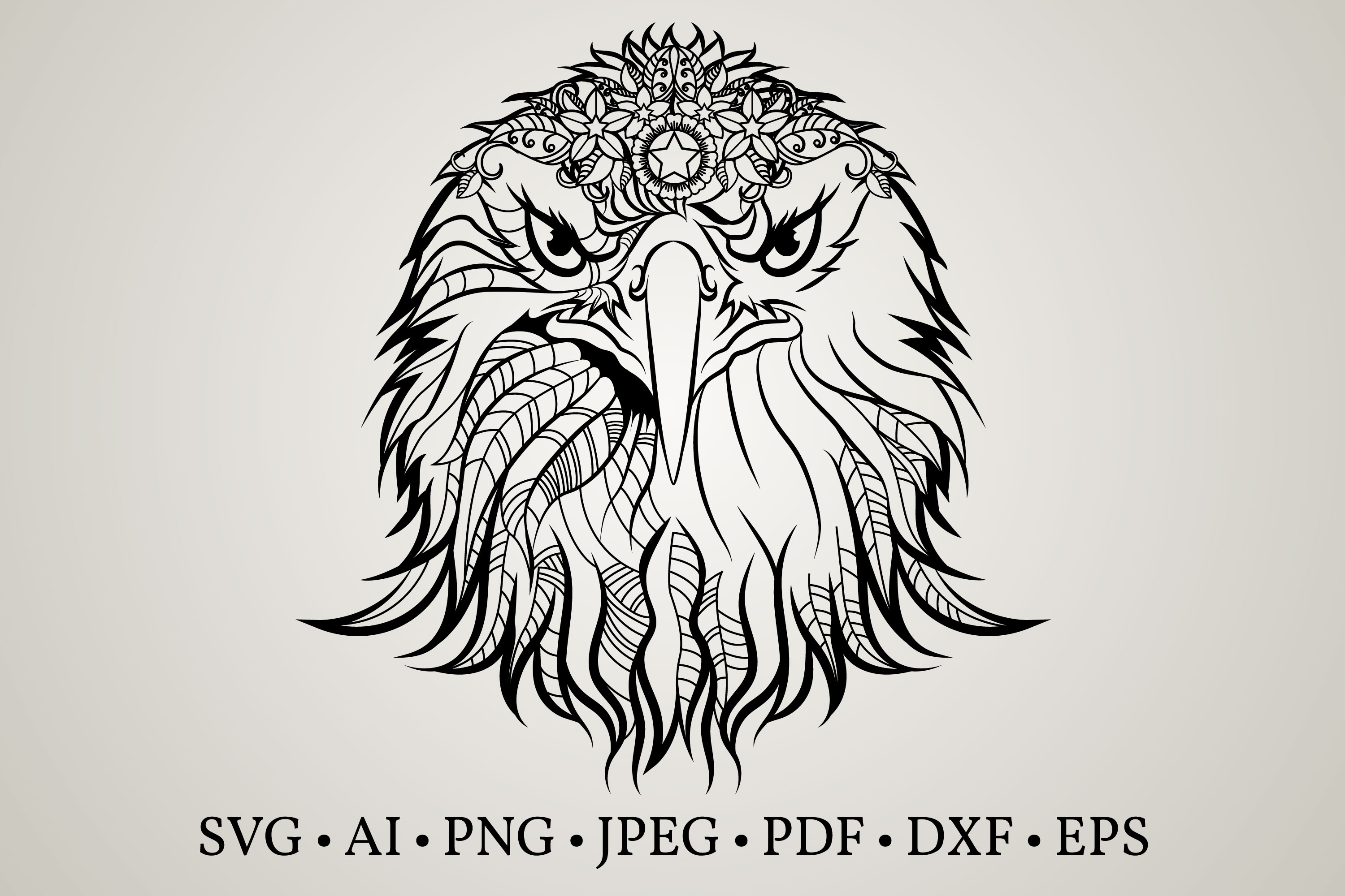 Download Free Eagle Silhouette Graphic By Euphoria Design Creative Fabrica SVG Cut Files