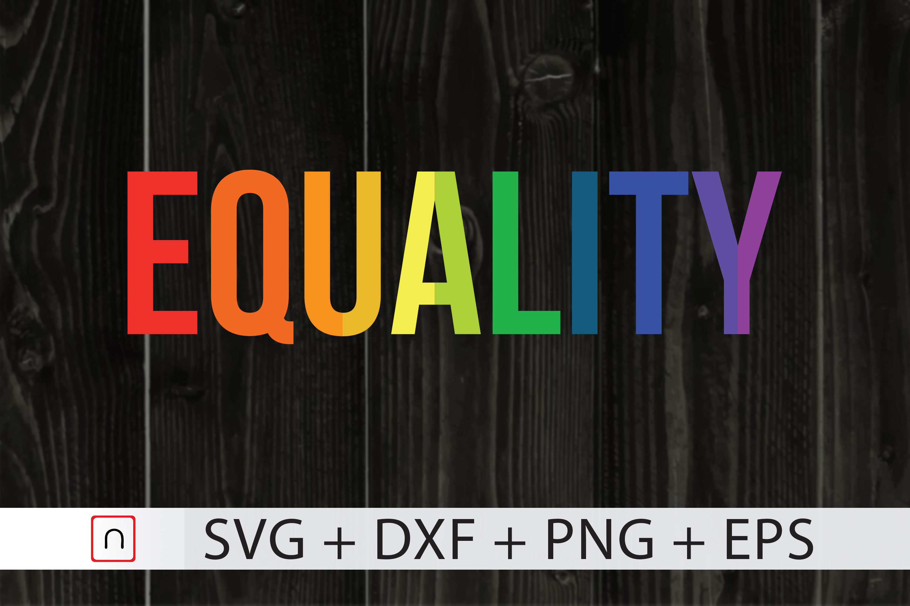 Download Free Equality Rainbow Flag Equality Lgbtq Graphic By Novalia for Cricut Explore, Silhouette and other cutting machines.