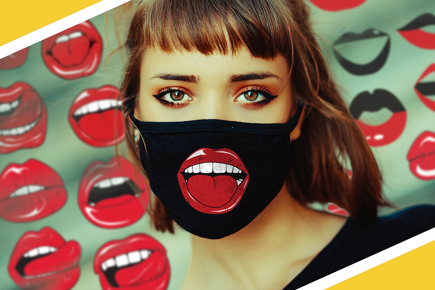 Download Free Face Mask Designs Bundle Graphic By Craft N Cuts Creative Fabrica SVG Cut Files