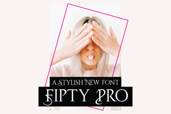 Print on Demand: Fipty Pro Serif Font By emanesdsign