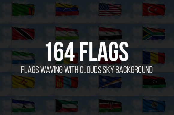 Download Free Flags Waving With Clouds Sky Background Graphic By Bourjart 20 for Cricut Explore, Silhouette and other cutting machines.