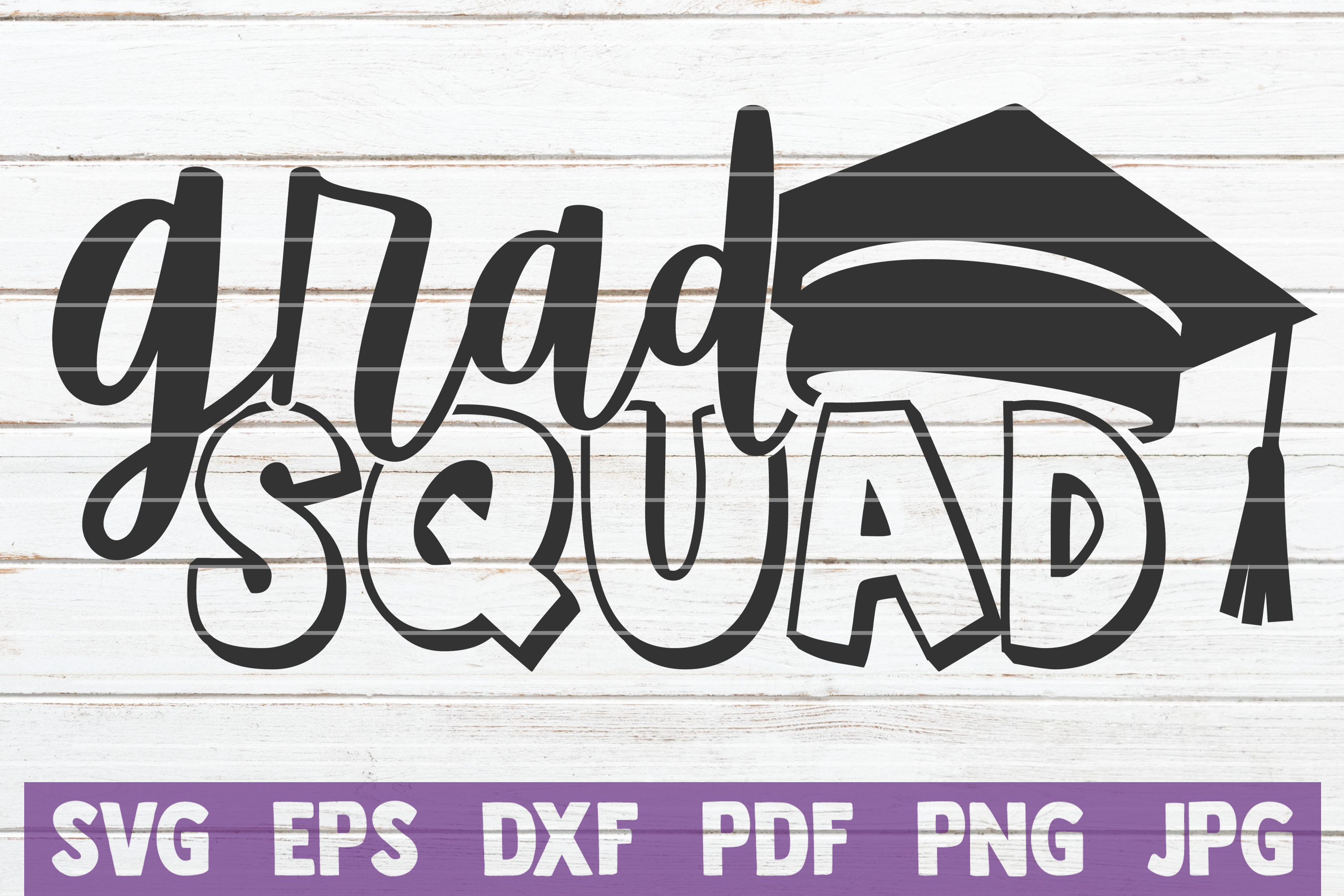 Download Free Grad Squad Graphic By Mintymarshmallows Creative Fabrica SVG Cut Files