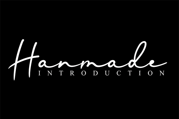Print on Demand: <a>Hanmade</a> Script & Handwritten Font By andikastudio