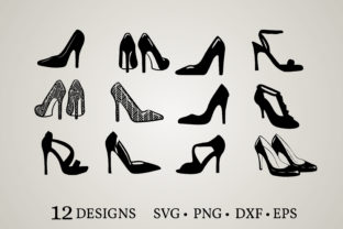 Heels Clipart Graphic Crafts By Euphoria Design