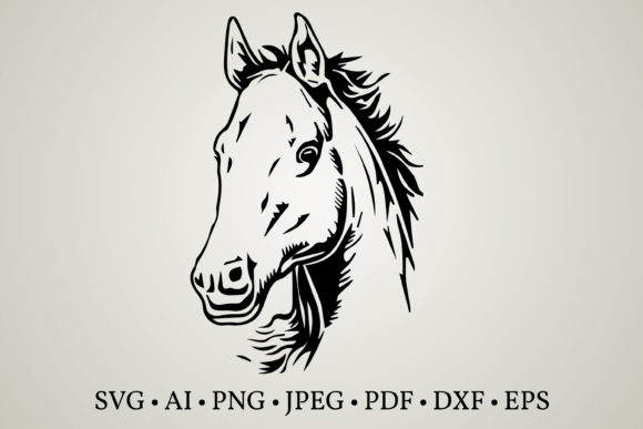 Horse Clipart Graphic