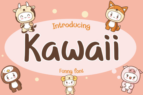 Print on Demand: Kawaii Script & Handwritten Font By AquariiD