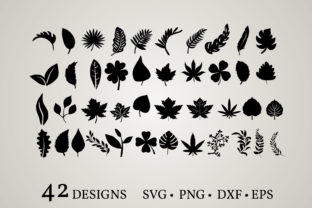 Leaf Clipart Graphic Crafts By Euphoria Design
