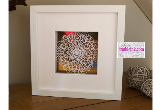 Mandala 3D Paper Cut Light Box Graphic 3D Shadow Box By Jumbleink Digital Downloads