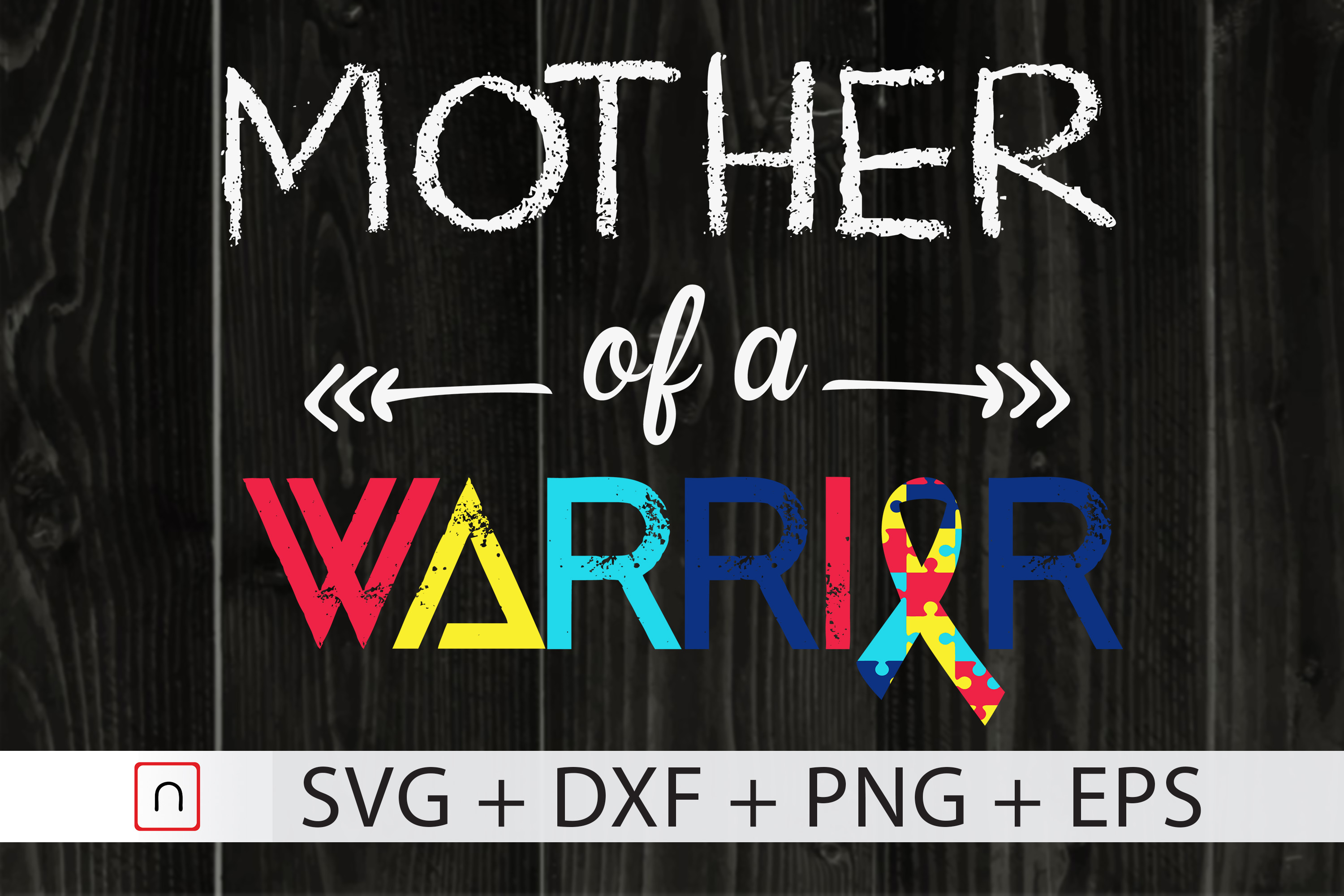 Mother Of A Warrior Autism Awarenes Graphic By Novalia