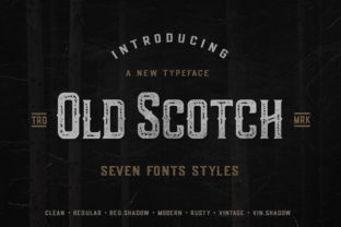 Print on Demand: Old Scotch Display Font By Wandery Supply
