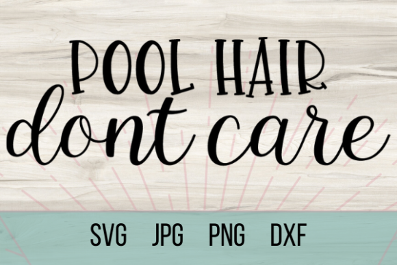 Download Pool Hair Dont Care