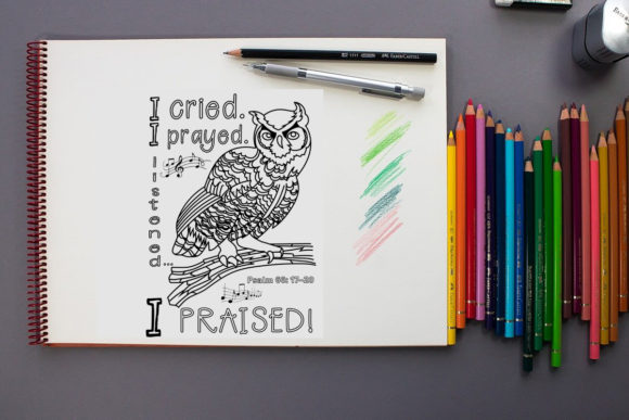 Printable A5 Coloring Page Graphic Coloring Pages & Books By Words Count Designs