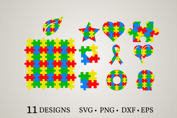 Puzzle Clipart Graphic Print Templates By Euphoria Design
