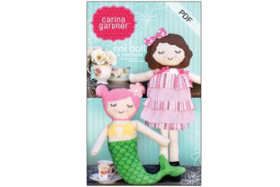 Rini and Mermaid Doll Graphic Sewing Patterns By carina2