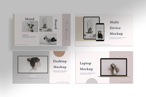 Download Free Rinne Presentation Template Graphic By Ovoz Graphics Creative Fabrica for Cricut Explore, Silhouette and other cutting machines.
