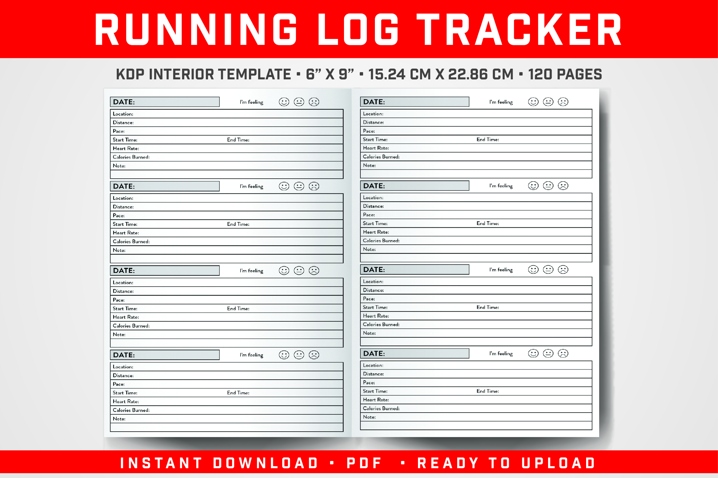 Download Free Running Log Tracker Graphic By Balajikonline Creative Fabrica for Cricut Explore, Silhouette and other cutting machines.