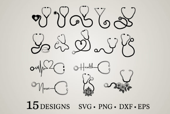 Stethoscope Clipart Graphic
