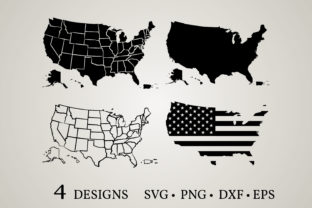 USA Map Bundle  Graphic Crafts By Euphoria Design
