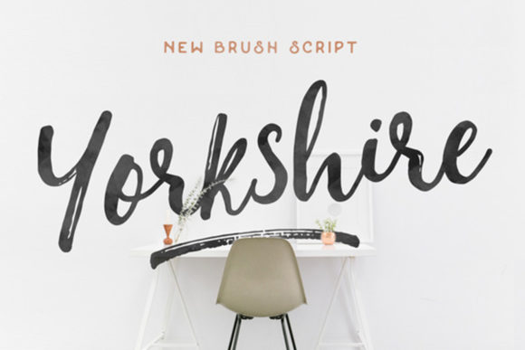 Download Free Yorkshire Font By Hustle Supply Co Creative Fabrica for Cricut Explore, Silhouette and other cutting machines.