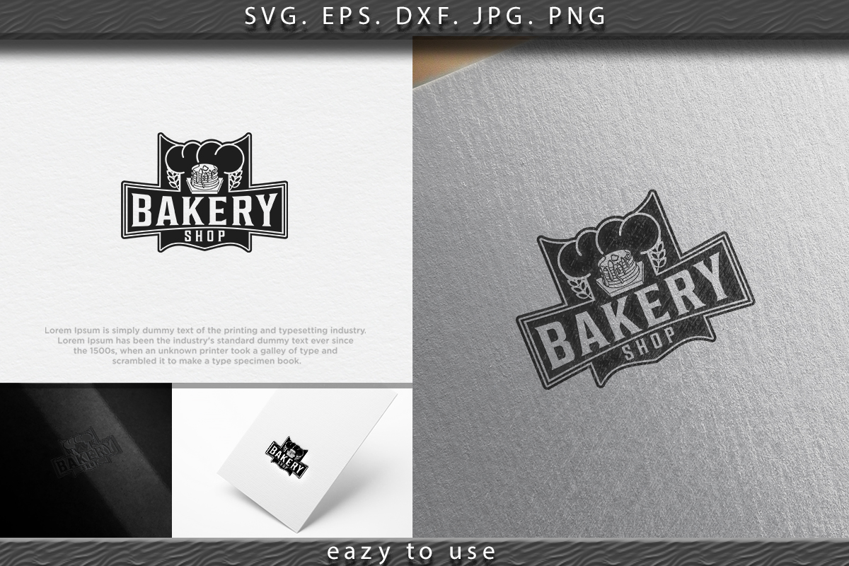 Download Free Pancake Vintage Bakery Logo Ideas Graphic By Ojosujono96 for Cricut Explore, Silhouette and other cutting machines.