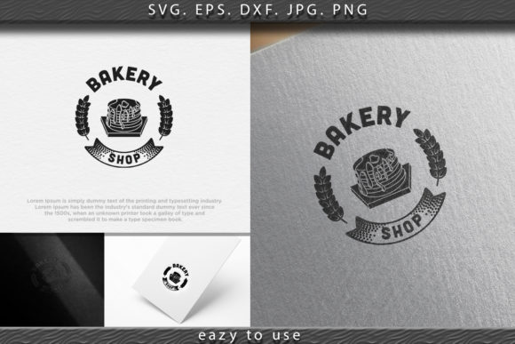 Download Free Pancake Vintage Bakery Logo Ideas With Graphic By Ojosujono96 for Cricut Explore, Silhouette and other cutting machines.